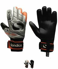 NEW Sondico EliteProtect Uomo Goalkeeper Guanti Silver/Orange