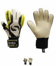 NEW Sondico Aquaspine Uomo Goalkeeper Guanti White/Yellow