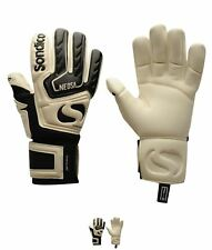 NEW Sondico Neosa Uomo Goalkeeper Guanti Black/White