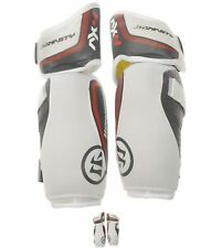 BRAND Warrior AX4 Ice Hockey Elbow Pads Mens Grey/White/Red