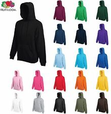 Fruit of the Loom Hombre Sudadera Con Capucha Suéter Liso