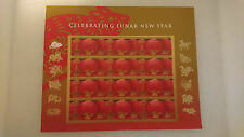 Scott #4221 US Chinese Lunar New Year of the Rat 2008 12 41c Stamp Sheet MNH NEW