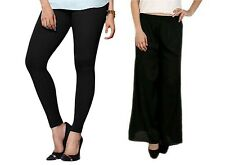 Casual Summer Palazzo Pants ,Plazzo Trousers  with cotton lycra leggings