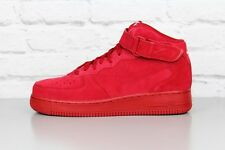 NIKE AIR FORCE 1 MID 07 315123 609 RED GYM SNEAKERS HIGH TOP SHOES TRAINERS