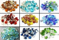 Glass Crystal Mix Pebbles Beads Mosaic Various Colours and Weights 17-20mm