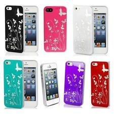 Butterfly Pattern Gloss Slim Hard Back Case Cover for iPhone 5 / 5s / SE *SALE*