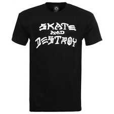 Thrasher Herren T-Shirt Skate and Destroy - black