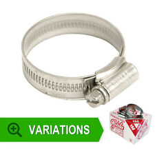 Genuine Jubilee Stainless Steel Hose Clips - Pipe Clamps