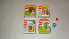 Choice LEGO New Sealed Set 5005156 Gingerbread Man / 5004468 Chicken Suit Guy