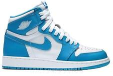 Nike Air Jordan 1 Retro High OG BG GS White Dark Powder Blue Juniors 575441-117
