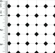 Dollhouse Miniature Diamond Tiles Floor Paper