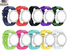 Sports Silicone Bracelet Strap Watch Band For Samsung Gear S3 Classic Frontier