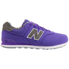 New Balance 574 Luxe Rep Purple Boys and Girls trainers kids