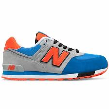 New Balance 574 Cut and Paste Blue Grey Boys and Girls trainers kids