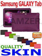 Amzer Silicone Skin Jelly Case Cover For Samsung GALAXY Tab 10.1 P7100 7500 7510