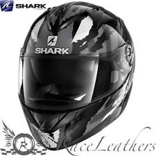 SHARK ridill Riddle Oxido Negro Gris Moto Casco de Scooter