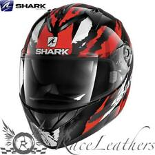SHARK ridill Riddle Oxido Negro Rojo Moto Casco de Scooter