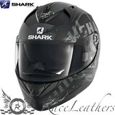 SHARK ridill Riddle skyd Negro Gris Moto Casco de Scooter