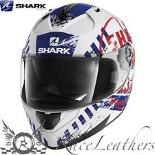 SHARK ridill Riddle skyd BLANCO-ROJO Azul Moto Casco de Scooter