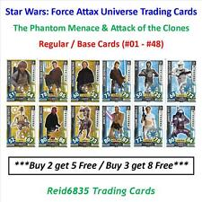 """Topps"" Star Wars: Force Attax Universe: - Regular / Base Cards (#01 - #48)"
