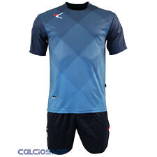 Completi calcio Legea - Kit Breda N.Blue / Celeste MC