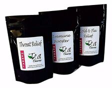 MULTIPACK - RECOVERY TEAS | 3 flavours | Support for Flu, Throat & Immune System
