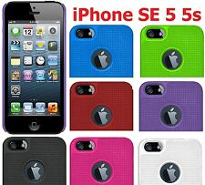 AMZER Shell Snap On Hard Protective Case Slim Cover Fit For Apple iPhone 5 5S SE