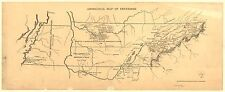 Photo Reprint Antique American Cities Towns States Map Tennessee