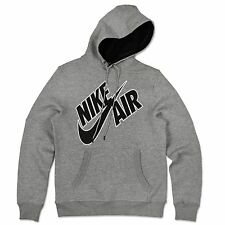 Nike Air Max Swoosh Sudadera Con Capucha Polar jersey suéter Gris