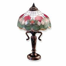 Dollhouse Miniature Non-Electric Rose Table Lamp by Reutter Porcelain