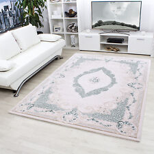 Design moderne en acrylique Tapis Salon ALPINA conception Oriental 5210 TURKIS