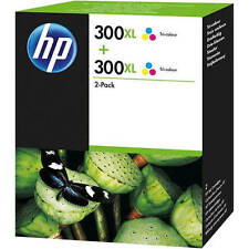 Original HP 300XL Ink High Capacity Tri-Colour Twin Pack (D8J44AE)