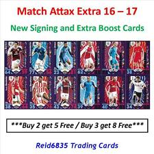 Match Attax Extra 2016 - 2017 / 16 - 17: New Signing & Extra Boost Cards