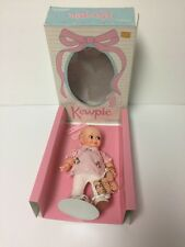 Vintage Jesco Cameo Kewpie Doll Girl new in Original Box with stand