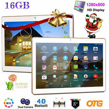 10'' POLLICI HD Dual SIM Smartphone Android 16GB ROM 3G GPS WI-FI Tablet PC