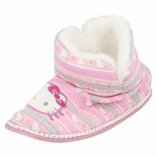 Filles Hello Kitty Chaussons Bottines Style - 320 / 3193