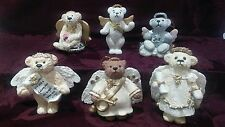 Annette Funicello Angel Bear Figurine Collection. Complete set of 6