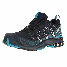 Salomon XA PRO 3D Gore-Tex Navy Mens mountain climbing shoes
