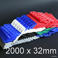 2000 Mixed Flat Double Glazing Glass Packers Spacers Window Frame Shim Kitchen
