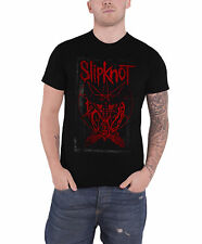 Slipknot T Shirt Dead Effect Band Logo Gray Chapter officiel Homme nouveau
