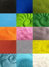 Coloured Sand 0.5mm Home Decor Crafts Weddings Vases Various Weights 7 Colours