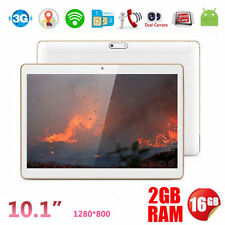 """10.1"""" Pollici 3G Phablet Android 16GB PC Dual SIM/Videocamera WIFI Bluetooth GPS"""