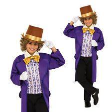 Rubies Childs Official Willy Wonka And The Chocolate Factory Fancy Dress Costume