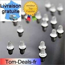 Fermoirs boucles d'oreilles embout silicone stop bouchons stud attaches goujons!