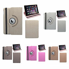 APPLE IPAD 2, IPAD 3 IPAD 4 GLITTER 360 DEGREE ROTATING CASE VARIOUS COLOURS