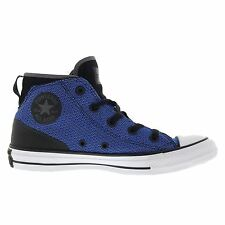Converse Chuck Taylor All Star Syde Street Black Blue Womens High Top Trainers