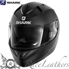 SHARK ridill Riddle Blanco Negro Mate Motocicleta Moto Casco + Visera
