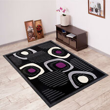 New Beautiful Rugs For Living Room - Different Sizes - Black - Mosaic Pattern