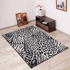 New Beautiful Rugs For Living Room - Different Sizes - Black - Animal Pattern
