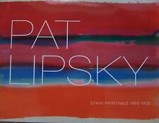 Pat Lipsky, contemporary artist, catalogue for exhibition in New York, colorful